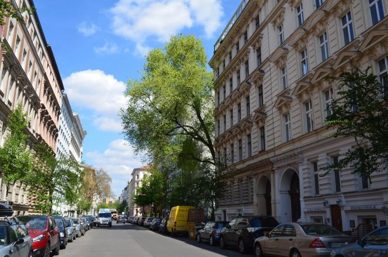 rua em Kreuzberg