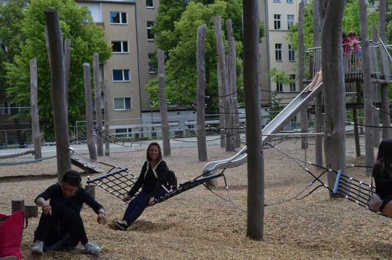 Eliana no parque